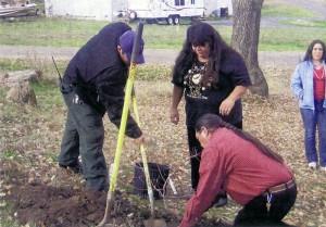 Parking Lot Tree Dedication - 2006