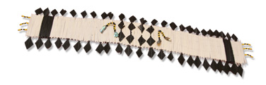 Flicker Feather head band used in traditional dance