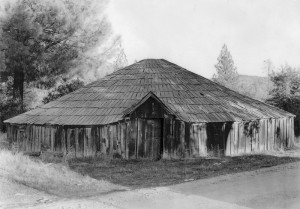 Round House (front view) - August 1947