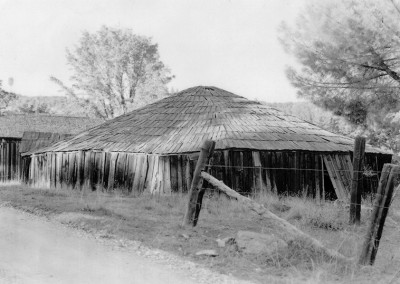 Round House side view - August 1947