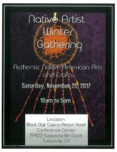 Native Artists Winter Gathering @ Black Oak Casino Resort Hotel Conference Center | Tuolumne | California | United States