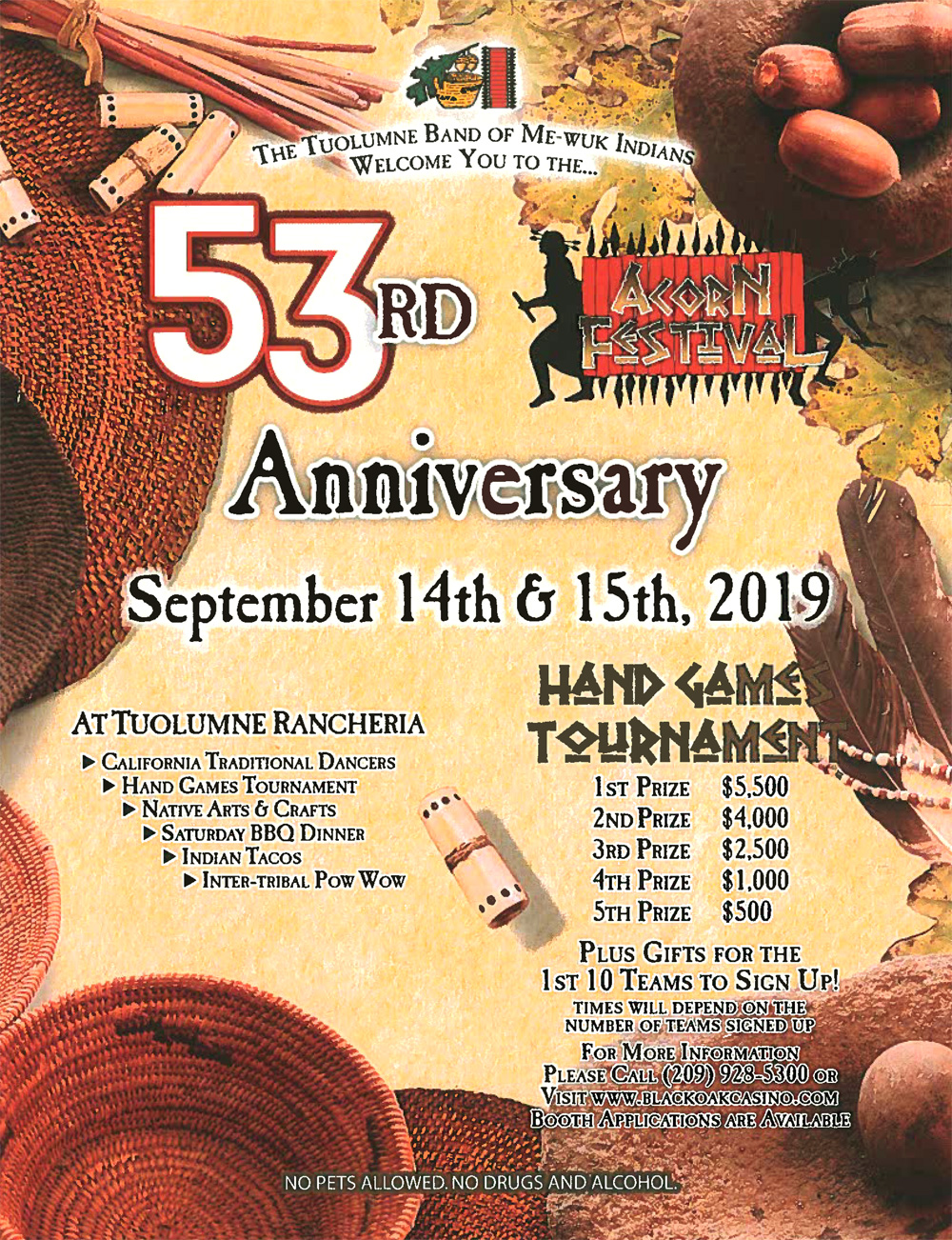 Tuolumne MeWuk 53rd Anual Acorn Festival
